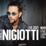 Rinviato il tour teatrale di Enrico Nigiotti